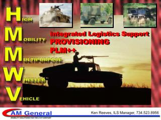 Integrated Logistics Support PROVISIONING PLM++