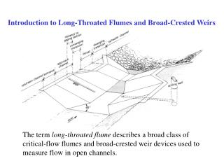 Introduction to Long-Throated Flumes and Broad-Crested Weirs