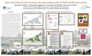 Improving Urban Food Environments through Community-Based Public Health Interventions