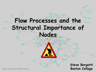 Flow Processes and the Structural Importance of Nodes