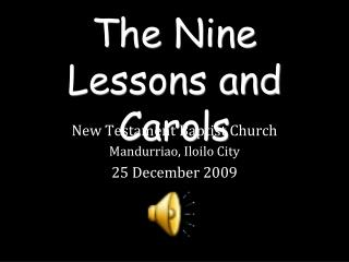The Nine Lessons and Carols