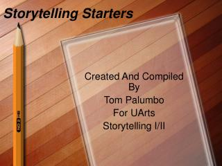 Storytelling Starters
