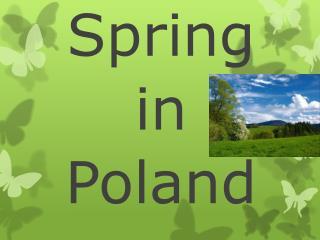 Spring  in Poland