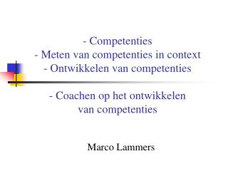 Marco Lammers