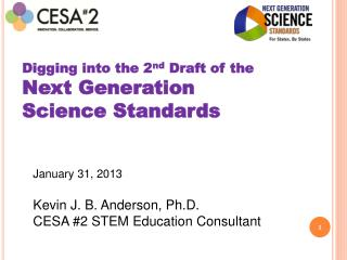Digging into the 2 nd  Draft of the Next Generation  Science Standards