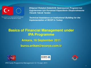 This project is co-financed by the European Union and the Republic of Turkey