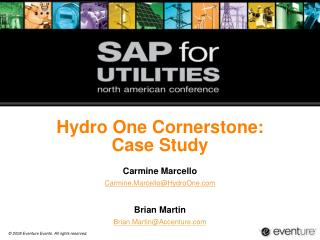 Hydro One Cornerstone: Case Study