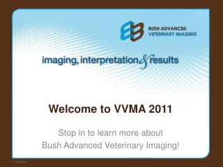 Welcome to VVMA 2011