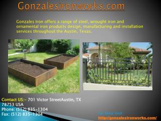 Gonzalesironworks