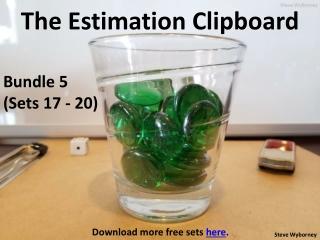 The Estimation Clipboard