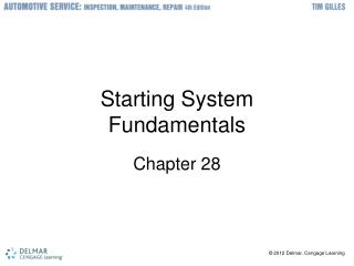 Starting System Fundamentals