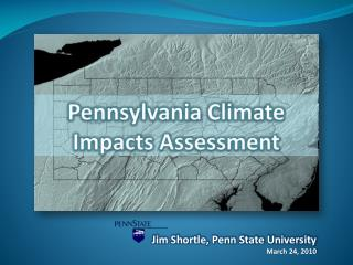 PA Climate Impacts Assessment