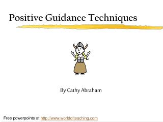 Positive Guidance Techniques
