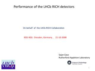 Performance of the LHCb RICH detectors