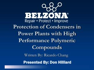 Protection of Condensers in Power Plants with High Performance Polymeric Compounds