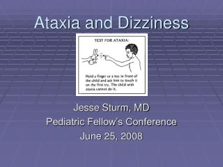 Ataxia and Dizziness