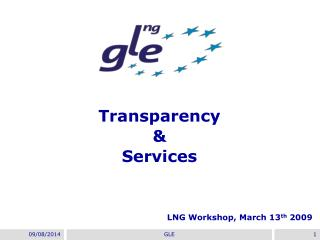 Transparency & Services