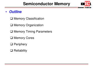 Semiconductor Memory