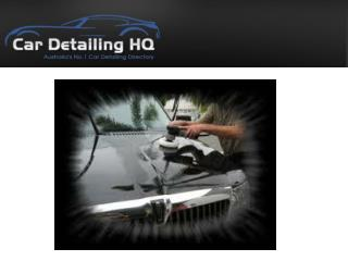 Make Your Vehicle Shine With Professional Car Detailing Serv