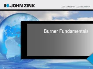 Burner Fundamentals