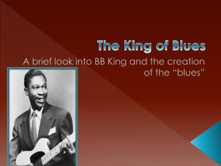 The King of Blues