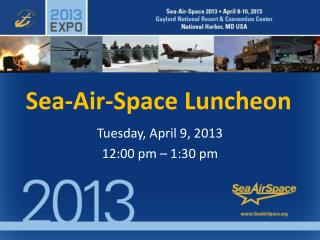Sea-Air-Space Luncheon