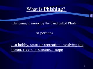 What is  Phishing ?