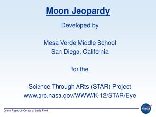 Moon Jeopardy