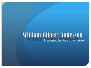 William Gilbert Anderson