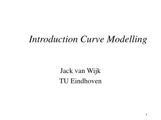 Introduction Curve Modelling