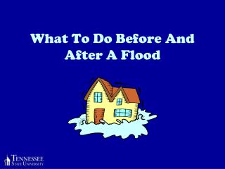 What To Do Before And After A Flood