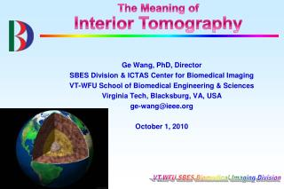 The Meaning of Interior Tomography