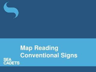 Map Reading Conventional Signs