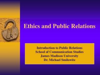 ethics public relations