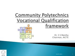 Community Polytechnics Vocational Qualification framework