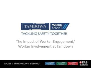 The Impact of Worker Engagement/ Worker Involvement at Tamdown