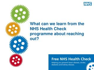 What can we learn from the NHS Health Check programme about reaching out?