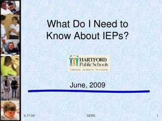 What Do I Need to Know About IEPs?