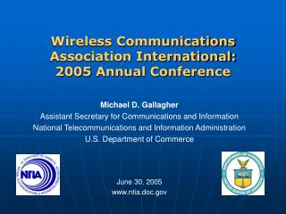Wireless Communications Association International:  2005 Annual Conference