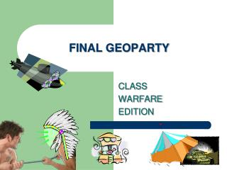 FINAL GEOPARTY