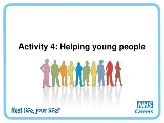 Activity 4: Helping young people
