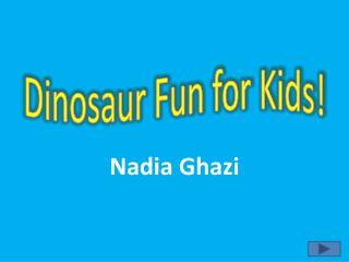 Dinosaur Fun for Kids!