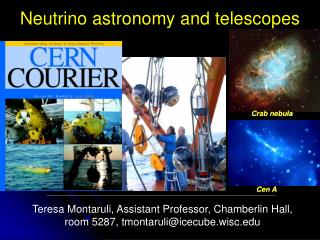 Neutrino astronomy and telescopes