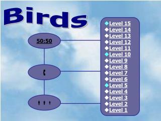 Level 15 Level 14 Level 13 Level 12 Level 11 Level 10 Level 9 Level 8 Level 7 Level 6 Level 5