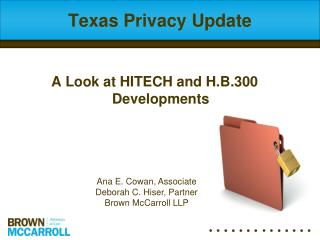 Texas Privacy Update
