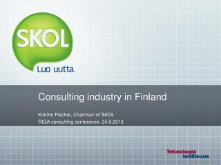 Consulting industry in Finland