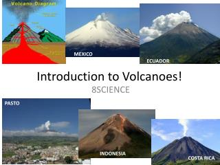 Introduction to Volcanoes!