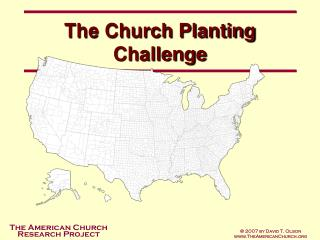 The Church Planting Challenge