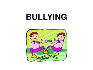 The relationship between bullying  and  self-esteem in adolescents.