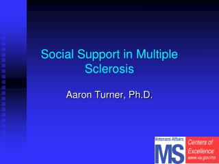 Social Support in Multiple Sclerosis